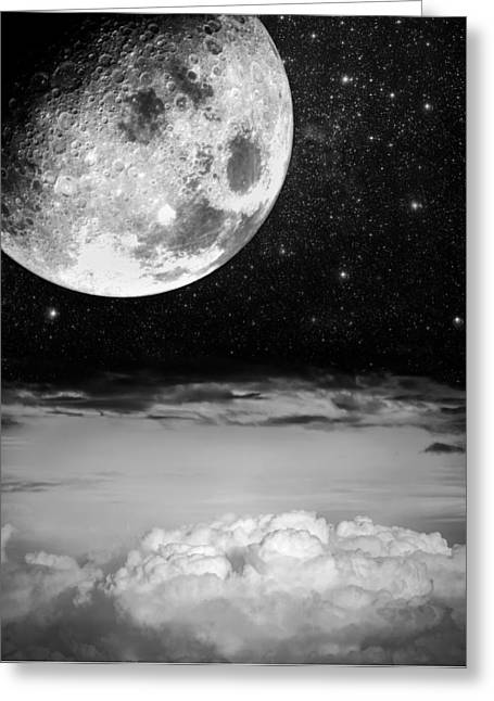 Starry Starry Night Greeting Card by Semmick Photo