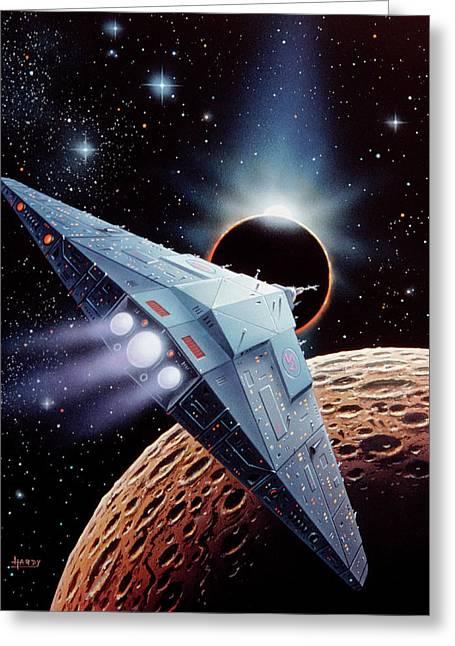 Starship Greeting Card