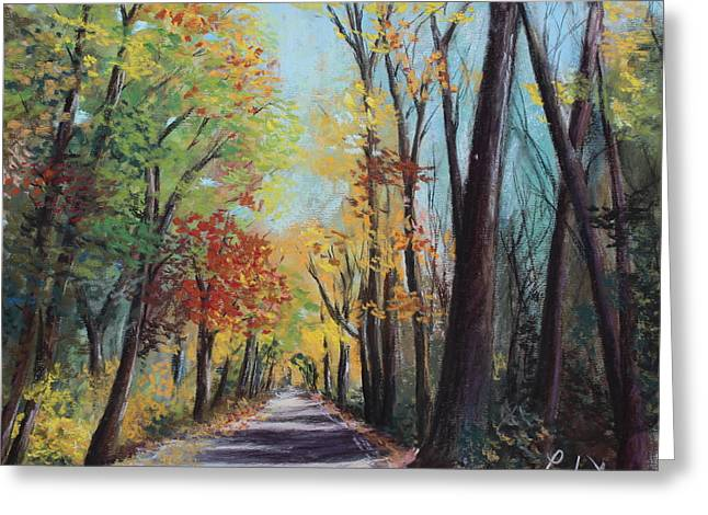 Starved Rock Park - Autumn Colors Greeting Card by Prashant Shah