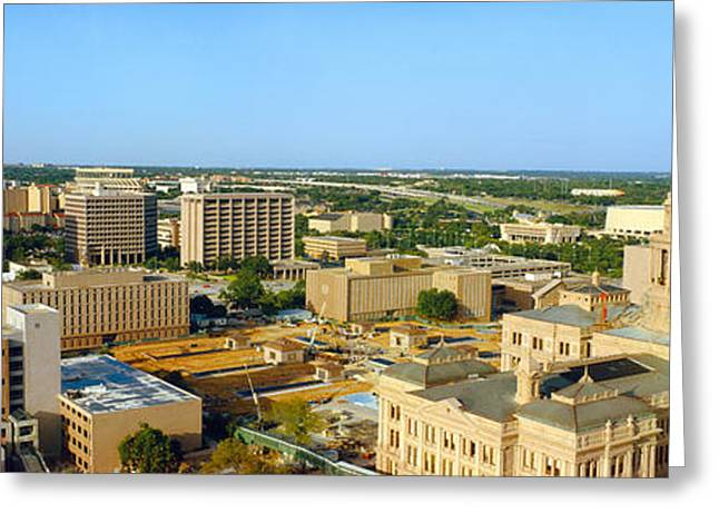 State Capitol, Austin, Texas Greeting Card by Panoramic Images