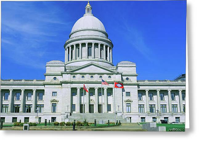 State Capitol Of Arkansas, Little Rock Greeting Card
