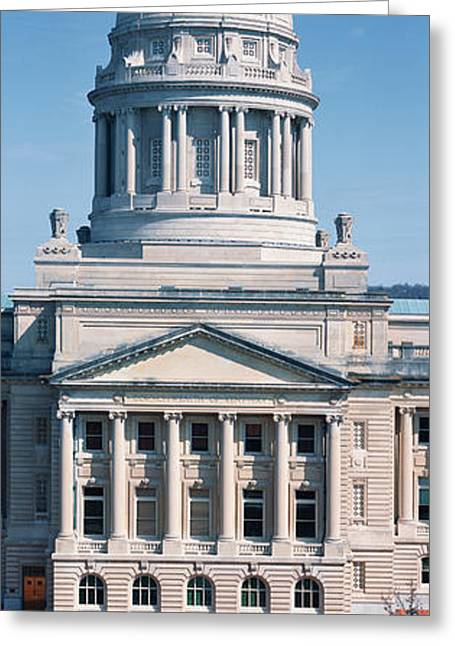State Capitol Of Kentucky, Frankfort Greeting Card by Panoramic Images