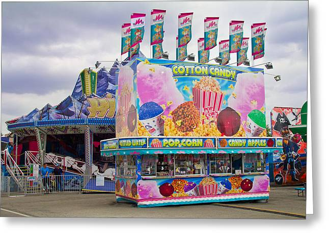 Greeting Card featuring the photograph State Fair by Steven Bateson