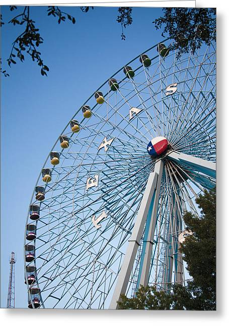 State Fair Time In Texas Greeting Card