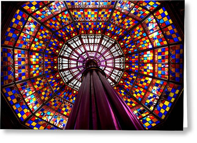 State House Dome Greeting Card by Charlie and Norma Brock