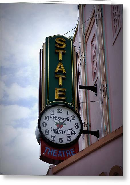 State Theatre Sign Greeting Card