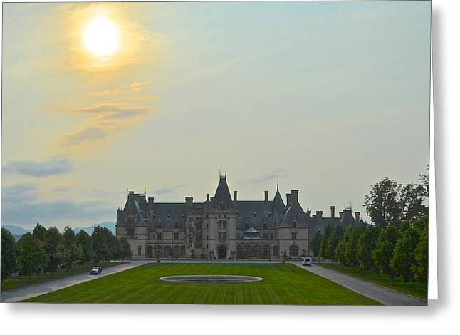 Stately Castle Greeting Card by Frozen in Time Fine Art Photography