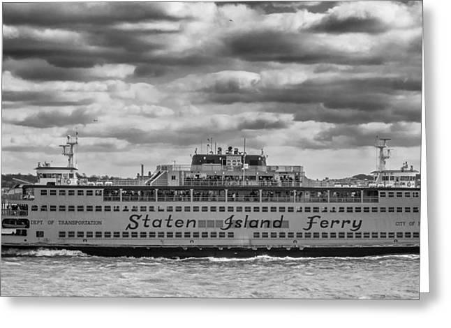 Staten Island Ferry 10484 Greeting Card