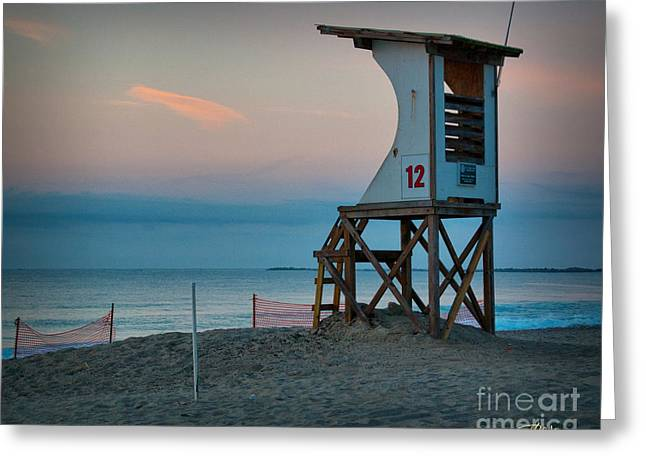 Greeting Card featuring the photograph Station 12 At Sunrise by Phil Mancuso