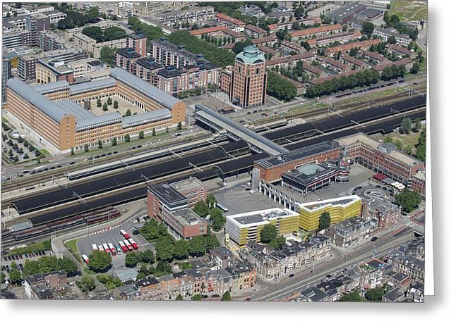 Station Den Bosch, Den Bosch Greeting Card by Bram van de Biezen