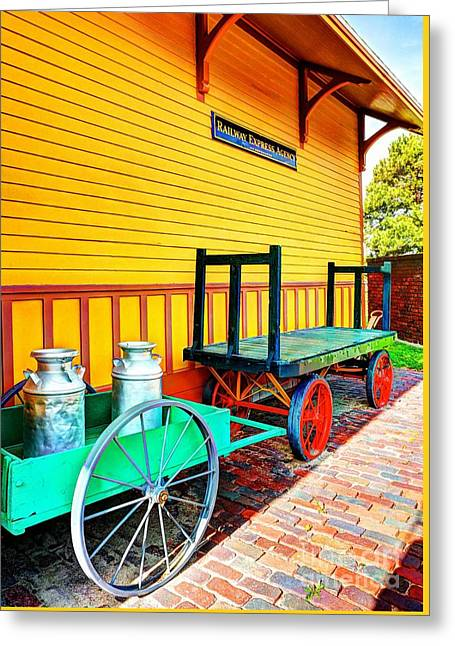 Stationary Colors Greeting Card by Mel Steinhauer