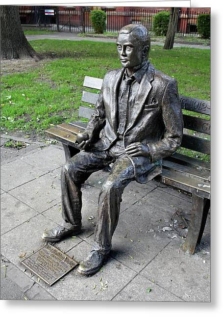 Statue Of Alan Turing Greeting Card