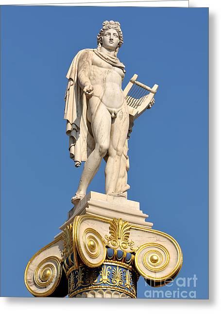 Statue Of Apollo Greeting Card