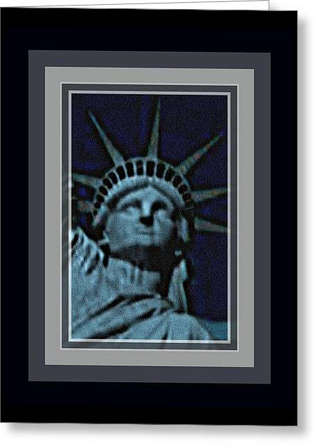 Statue Of Liberty 1 Greeting Card by Tracie Howard