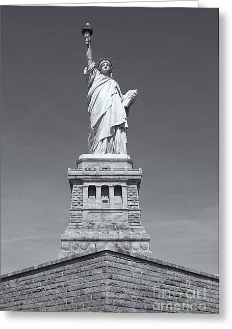 Statue Of Liberty IIi Greeting Card by Clarence Holmes