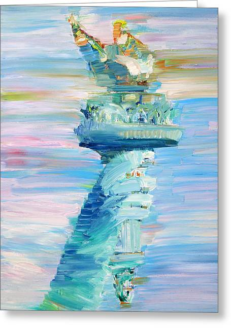 Statue Of Liberty - The Torch Greeting Card