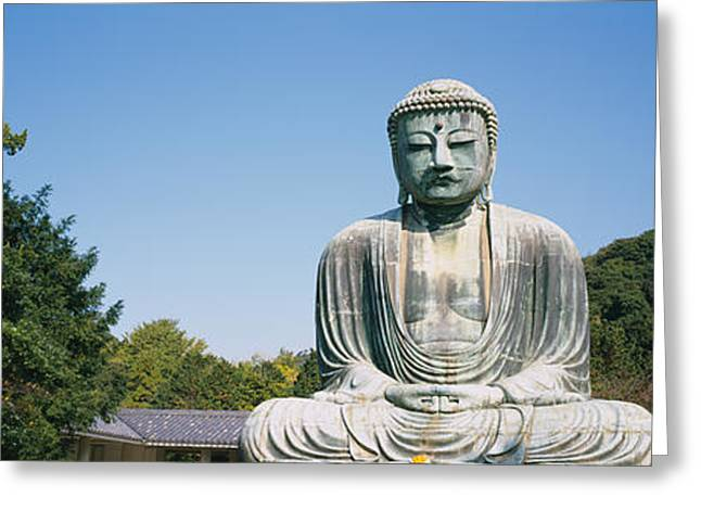 Statue Of The Great Buddha, Kamakura Greeting Card