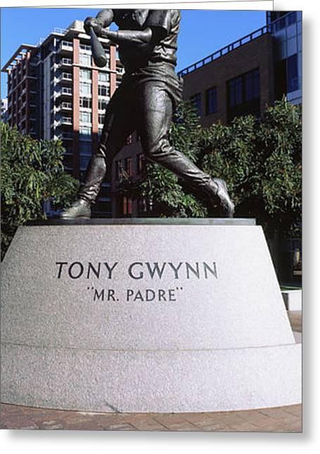 Statue Of Tony Gwynn At Petco Park, San Greeting Card