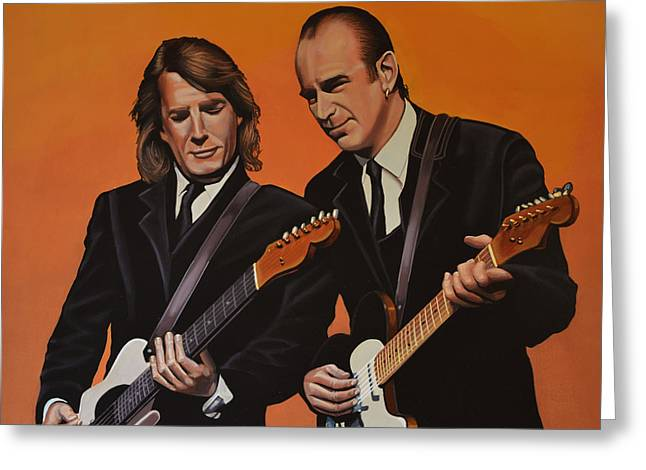 Status Quo Greeting Card by Paul Meijering