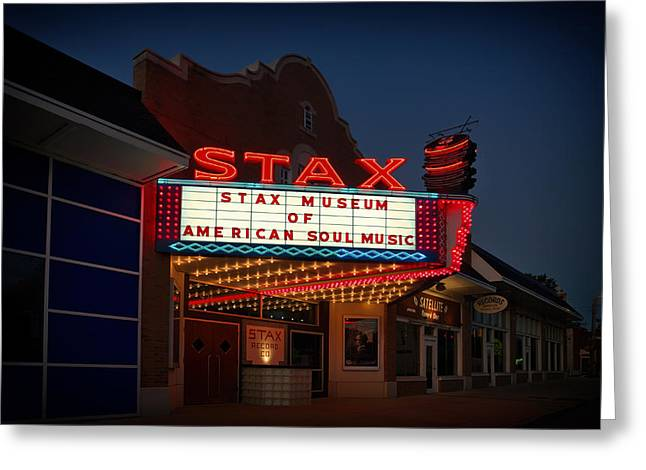 Stax Museum Of American Soul Music Greeting Card by Mountain Dreams