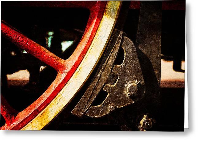 Steam And Iron - Brake Shoe Greeting Card by Alexander Senin