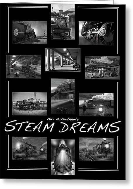 Steam Dreams Greeting Card