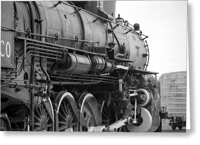 Steam Locomotive 1519 - Bw 02 Greeting Card