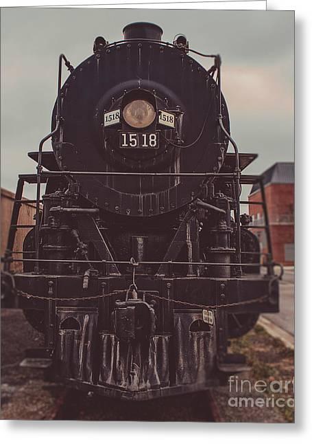 Steam Train 1518 Greeting Card