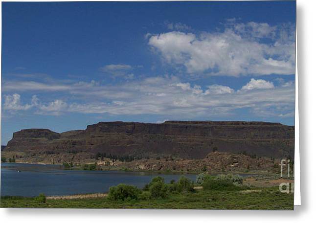 Steamboat Rock Greeting Card