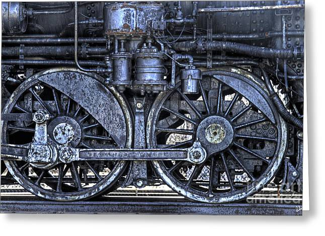 Steel Greeting Card by Alana Ranney