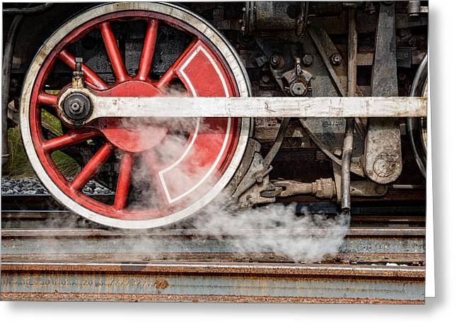 Steel And Steam 2 Greeting Card
