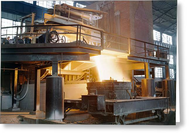 Steel Foundry, C1941 Greeting Card by Granger