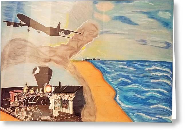 Steel Of The Dunes Greeting Card by Robert Pikula