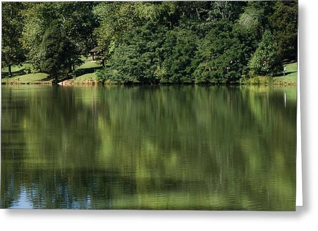 Steele Creek Park Reflections Greeting Card