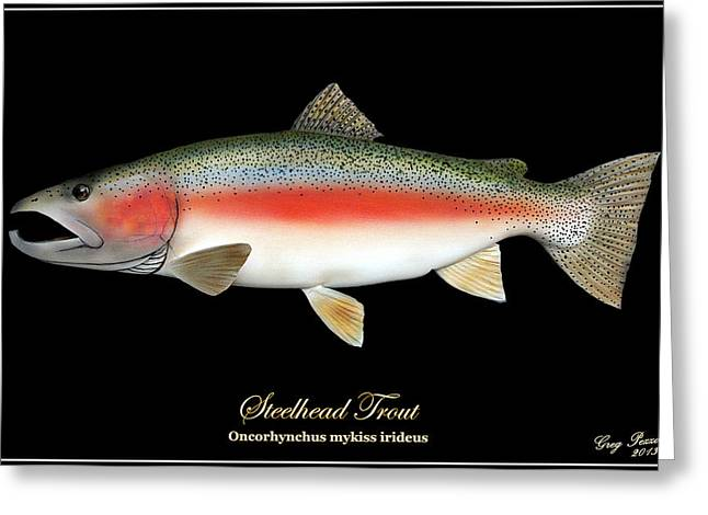 Steelhead Trout Greeting Card
