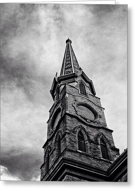Steepled  Greeting Card by Joe Scott