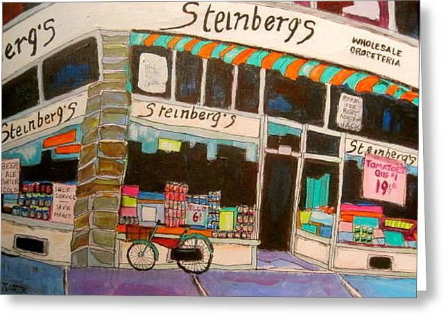 Steinberg Groceteria Montreal Memories Greeting Card