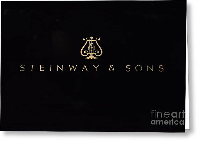 Steinway And Sons Greeting Card
