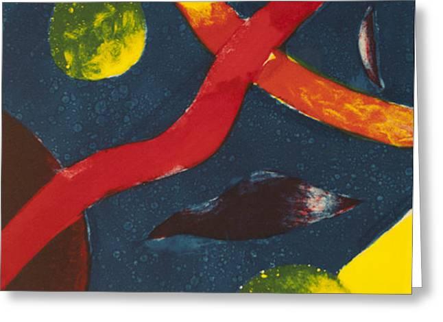 Stellar Greeting Card by Emily Lowe