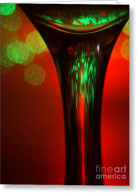 Greeting Card featuring the photograph Stem by Trena Mara