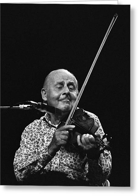 Stephane Grappelli   Greeting Card