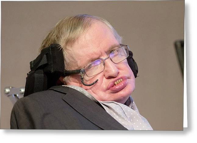 Stephen Hawking Greeting Card