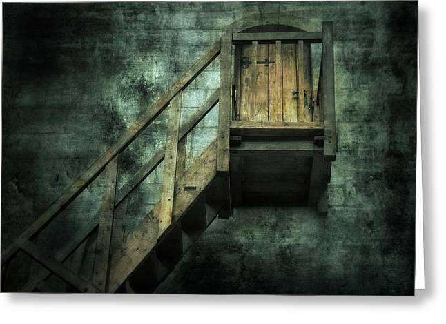 Stepping Into Mystery Greeting Card by Svetlana Sewell