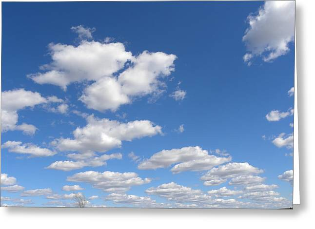 Greeting Card featuring the photograph Stepping Stones In The Sky by Teresa Schomig