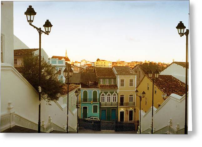 Steps Leading Up To Igreja Greeting Card by Panoramic Images