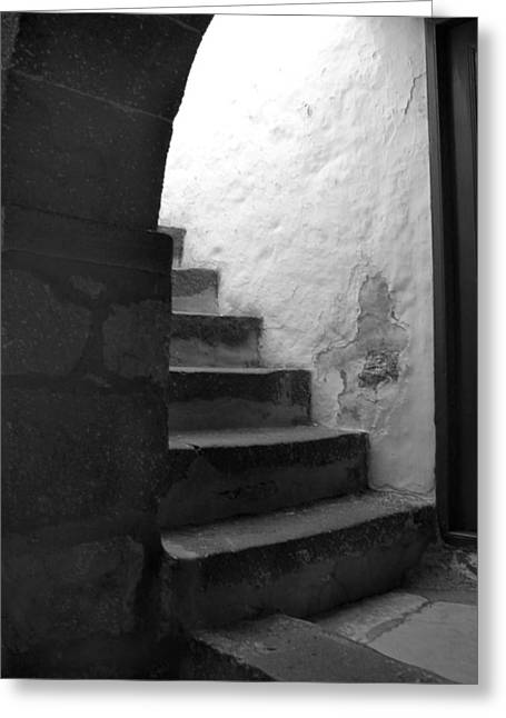 Steps On Patmos Greeting Card