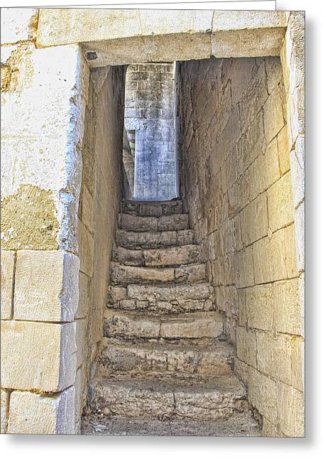 Steps To Matera Greeting Card