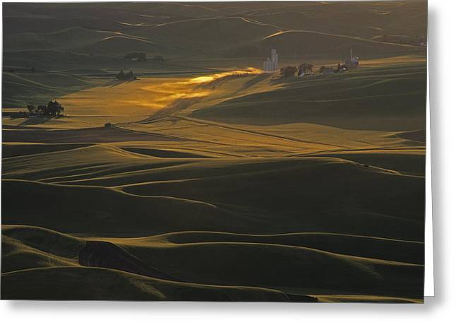 Steptoe Butte Sunset Greeting Card