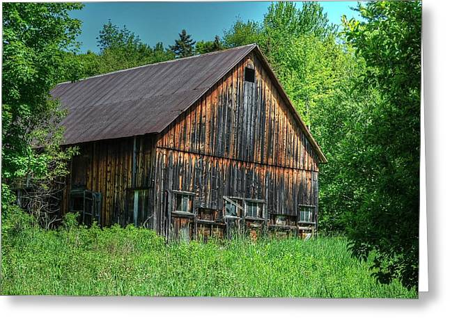 Sterling Valley Barn Greeting Card by John Nielsen
