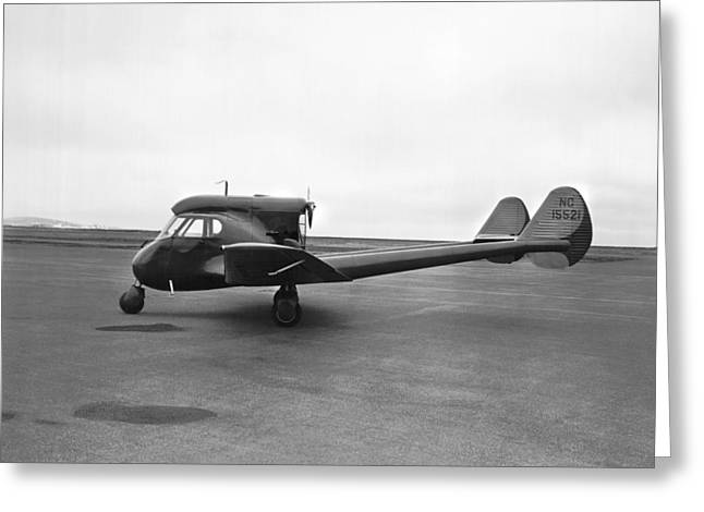 Sterman-hammond Y-1s Aircraft Greeting Card by Underwood Archives